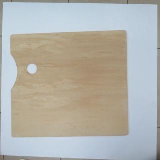 Bảng pha màu ( Palette) gỗ